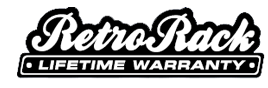 RetroRack Lifetime Warranty