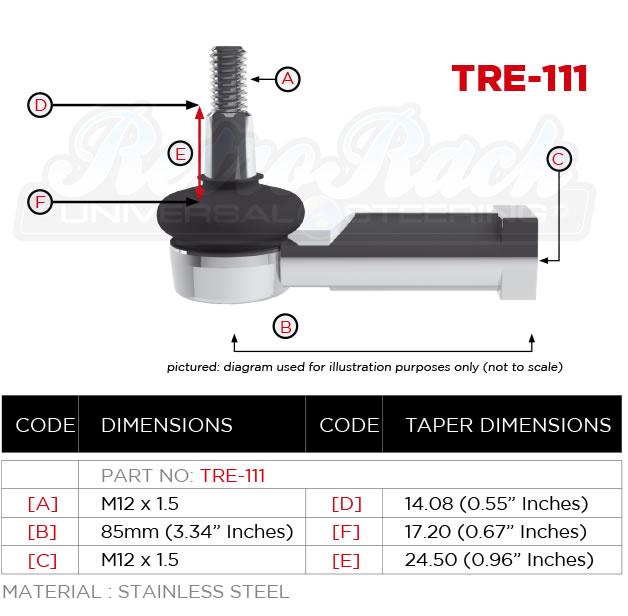 RetroRack TRE-111 Tie rod