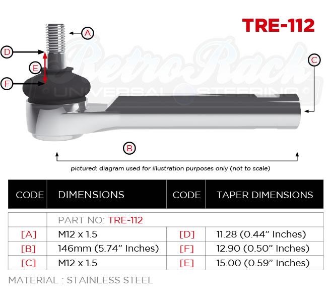 RetroRack TRE-112 Tie rod
